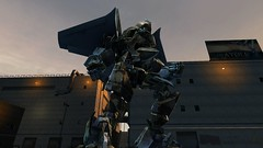 Breakaway (West Coast Oil Refinery) (BarricadeCaptures) Tags: transformers 2 revenge fallen rotf autobot flyer breakaway freeroam free roam west coast oil refinery game screenshot screencap
