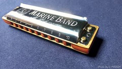 My most beautiful instrument. My Hohner Marine Band 1896, with C-tuning. A beautiful harmonica, customized by the great Luthier, Marcio Abdo. Let's go to the sounds !! (PY6RDM) Tags: hohner harmônica harmonic sound som gaita marineband1896 band música music motog4plus moto