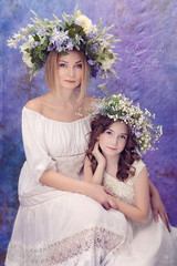 Волшебство Весны и Молодости (MissSmile) Tags: misssmile child kid family love connection together mother daughter delicate touching tenderness happiness