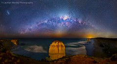 Milkyway Over The Bay Of Islands (Lachlan Manley Photography) Tags: 12apostles bayofislands touristdestinations tourismvictoria greatoceanroad beach cliffs rocks