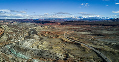 Terra (charleswang55) Tags: photography dji djimavic mavic landscape nature outdoors utah moab canyonlands canyon canyons mountains mountain road red rock drone droneshots dronelie wanderlust wildernessculture reiproject1440 camping hiking sky sun winter clouds