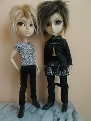 Fur haistyles! :P (it's_a_secret) Tags: taeyang sebastian butler kuroshitsuji kain hellcat punks kun planning groove dolls