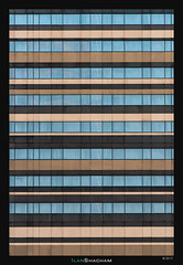 Movenpick Bar Code (Ilan Shacham) Tags: abstract minimalism architecture lines windows city building geometry fineart fineartphotography movenpick hotel amsterdam netherlands holland
