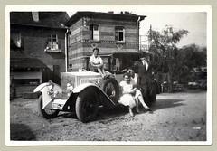 "Steiger 10/50 PS Limousine (Raymondx1) Tags: vintage classic black white ""blackwhite"" sw photo foto photography automobile car cars motor 1920s twenties steiger steiger1050ps limousine zeissikon zeiss fahrtrichtungsanzeiger contax contaxindicator"