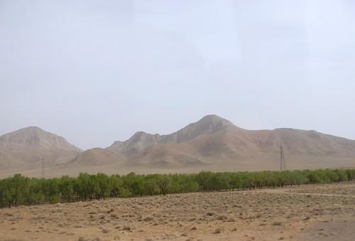 Bande Verte, Route Ispahan - Yazd