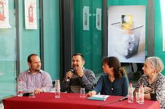 Carles Durà, David Sánchez, Irene Rodrigo i Carmen Pellicer 30/04/2017