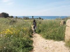 Agrigento (valentinacarloni1) Tags: agrigento sicilia mare fiori natura road italy sicily sea sky iawn