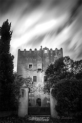torre de  doña Blanca (Santiago Vidal - Saliken) Tags: torreblanca castellon españa blancoynegro blackwhite longexposure largaexposicion torrededoñablanca torre canon canon7d canonphoto saliken