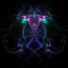 Ray of Darkness (Luc H.) Tags: ray darkness abstract graphic graphism fractal digital