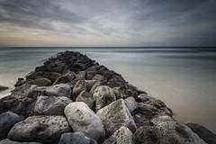 Rocks pier (Mathieu Calvet) Tags: pentax k3 da1224 1224 paysage landscape leefilter lee filter bigstopper big stopper hérault languedocroussillon mer sea méditerranée