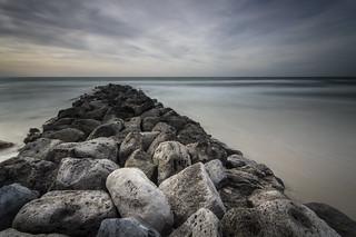 Rocks pier
