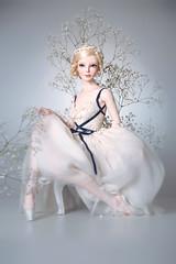 Little Ballerina (Amadiz) Tags: amadiz amadizstudio virginia bjd abjd doll dolls
