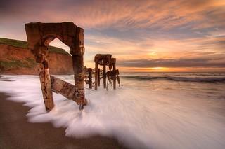 Storm Drain Sunset #2