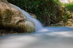 Rocks and water (nimor72) Tags: water liquid flow fast slow fall jump rain rock stone rest solid mountain white blue sky move nature forest river stream torrent cascade
