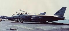 F14A+ VF24 USS Nimitz 30 Apr 91 2 (ralph.fiona) Tags: f14a vf24 ussnimitz firstgulfwar