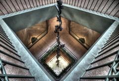 Sackler Gallery Stairwell (JoelDeluxe) Tags: washington dc mall smithsonian museum joeldeluxe