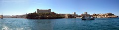 Marseille Panorama from Ferry (markjelinsky) Tags: sea mer france alpes marseille europa europe mediterranean european union cte du rhne provence dazur mditerrane unione europeene bouches