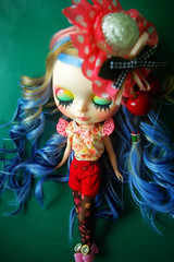 "A-Dong's Custom Blythe doll No.64 ""Blossoming of Love"""