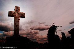 Cross Of Hope (Twistedreload) Tags: cemeteries art cemetery victorian angels