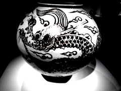 (sftrajan) Tags: cameraphone sanfrancisco museum dragon edited muse museo android asianartmuseum asianart asianartmuseumofsanfrancisco chineseceramics picsart flickrandroidapp:filter=none