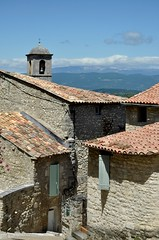 Village du Luberon (Cathy de Moll) Tags: houses church stone village steeple provence luberon lacoste
