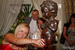 IMG_9605 (Micha Olszewski) Tags: family wedding people sculpture art statue god religion poland eros event cupid mythology greekmythology bytom lskie lubaniiandrzeja aniasandandrzejswedding annapaczyna annastasz