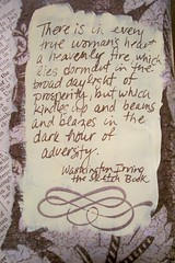 Adversity (artsychicksw) Tags: brown art altered vintage mixed women media journal cream adversity journaling