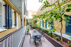 Hotel Mazarin courtyard (New Orleans Hotel Collection) Tags: usa architecture hotel la us neworleans courtyard frenchquarter