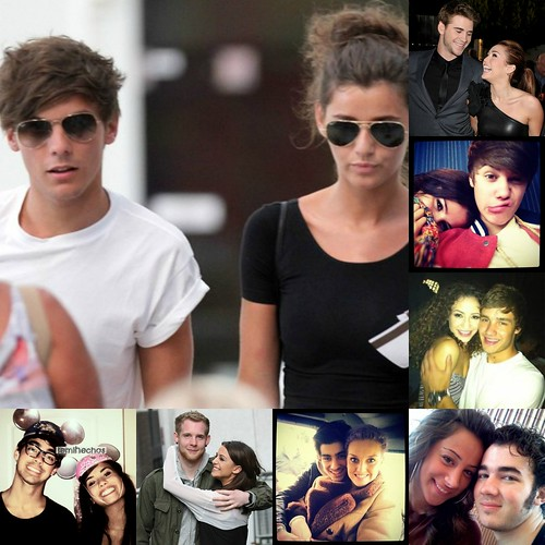Louis is SOOOOOO Happy with her, no?