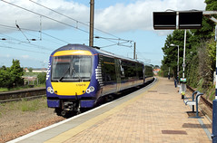 2013-06-01 170418 (1008 ex Edinburgh) Dunbar 1 (John Carter 1962) Tags: rail trains scotrail railways 170 dmu