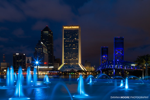 Friendship Park Fountain, Jacksonville, Florida
