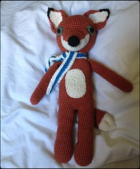 A Fox for Bertus (Sigrid Frensen) Tags: animal stuffed crochet fox madeitmyself nopattern