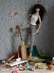 Lily Homewrecker (msgoody2shoes) Tags: destruction after ever diorama lilith rockin
