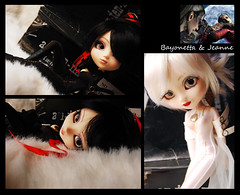 Bayonetta & Jeanne (solarsenshi) Tags: game fan ooak planning groove pullip custom jeanne jun bayonetta