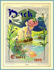 1909 Cover of PUCK  for 'Easter'   - 'PSYCHE'  - by Gordon Grant (carlylehold) Tags: art robert by vintage magazine illustrated cover puck 1909 haefner robertchaefner