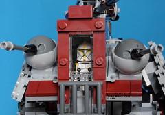 Star Wars 75019 AT-TE (KatanaZ) Tags: starwars lego atte macewindu minifigures battledroid clonetroopercommander colemantrebor battledroidcommander lego75019