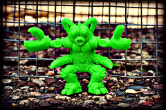 Lobsterman (LittleWeirdos) Tags: green monster toy greenmonster greentoy minifigure lobsterman keshi rubbermonster monstertoy customfigure rubberfigure zectron monsterfigure customyou tinyterrorsfromthedeep
