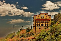 IMG_5219 (SYD_AZ) Tags: arizona clouds view hill bluesky jerome jeromegrandhotel