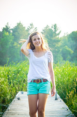 Katie {Seniors 2014} (Rachel Worthman) Tags: sunset summer portrait girl field minnesota rural evening model photoshoot retrato graduation stpaul minneapolis teenager twincities ritratto seniors matte backlighting seniorportraits classof2014 nikond7000