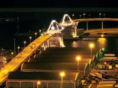 """Europa Bridge"" port of Barcelona (Bruix1) Tags: barcelona city bridge espaa port puerto puente spain europa europe ciudad catalonia pont catalunya catalua ciutat espanya"