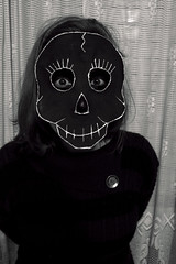 Calavera mejicana (Bruna Lucchesi_) Tags: bw mexicana skull pb caveira calavera mejicana
