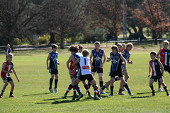 20130824 U13 Red v Gungahlin at Reid