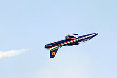 Jesolo Air Show (Giorgio Montersino) Tags: italy italia aircraft flight airshow ami pan freccetricolori italiana acrobatic aerei jesolo aeronautica militare pattugliaacrobaticanazionale