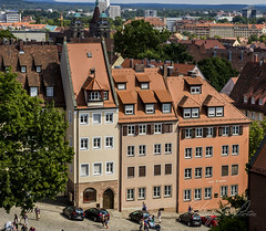 Houses on a Hill (Sugardxn) Tags: photoshop buildings germany europe hill bamberg steep sugardxn garypentin