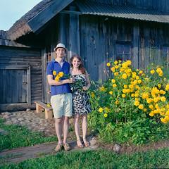 Витя и Настя (mafh) Tags: bronica portra 400vc ps80