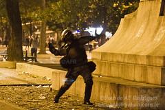 Manifestação dos Professores_01.10.13_4_Foto de AF Rodrigues_2 (AF Rodrigues) Tags: brasil riodejaneiro guerra praça bomba pm greve cinelândia polícia professores centrodoriodejaneiro 2013 afrodrigues