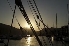 Puerto de Cartagena (Manuel Fernndez.) Tags: sunset port boats puerto atardecer spain barcos sony murcia cartagena slt a58 2013 espana