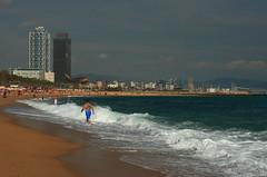 bcn11 (dmytrok) Tags: barcelona sea spain mediterranean bcn catalonia catalunya miramar spanien seilbahn katalonien  mittelmeer teleferic