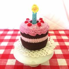 Torta amigurumi (~ tilde ~) Tags: cake handmade crochet softie amigurumi ganchillo