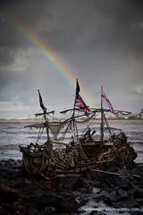 Black Pearl (*Richard Cooper *) Tags: black rainbow pearl mersey wirral newbrighton merseyside